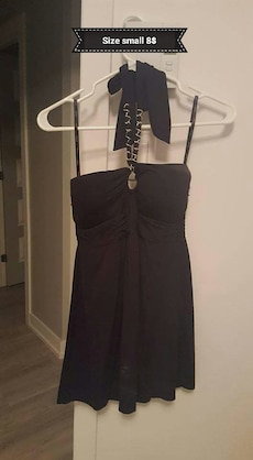 women's size small brown halter top