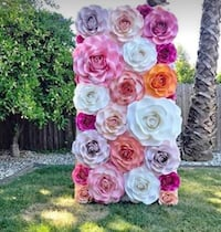 Made to order Giant paper flowers for nursery/home decor or party backdrop Las Vegas, 89115
