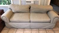 gray fabric 2-seat sofa Nashville, 37216