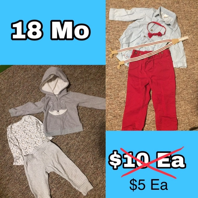 Photo Boys 18 Month Outfit Sets
