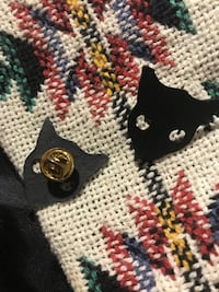 Cat Shirt Collar Pins