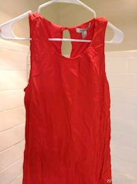 red scoop-neck sleeveless shirt Silver Spring, 20910