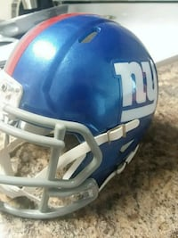 blue and white football helmet West Des Moines, 50265