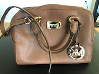Brown leather Michael Kors small size shoulder bag Toronto