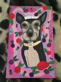 Custom pet portraits Surrey, V3W 3H3