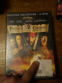 Case DVD DVD pirates des caraïbes Tourcoing, 59200