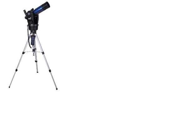 black and blue refractor telescope for sale  null