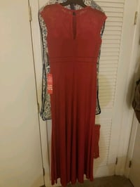 red scoop neck sleeveless maxi dress Silver Spring, 20903