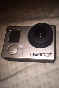 GoPro hero3+,charger and chest mount(tradable)(can be sold separately)