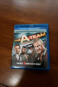The A-Team in Blu-ray