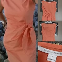 Designers DIANEvon FURSTENBERG Dress size 2 to 4 retail $400