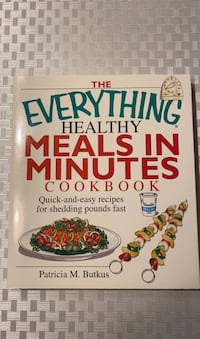 Everything Healthy Meals in Minutes Cookbook Mississauga, L5N 4L7