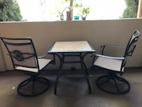 Outdoor 2 rocking chairs & a table Irvine, 92603