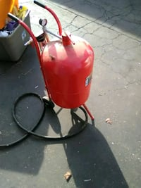red and black gas tank Sacramento, 95815