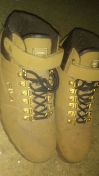 pair of yellow-and-black work boots Hot Springs, 71913