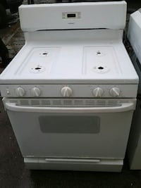 white induction range oven Rochester, 14609