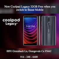 New Coolpad Legacy 32GB - Boost Mobile