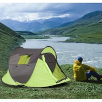 New in box 87x47x38 inches ez pop up portable camping tent with carrying bag 2265 mi