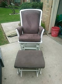 brown and gray glider chair Humble, 77396