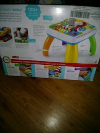 white and green Fisher-Price activity gym box El Paso, 79915