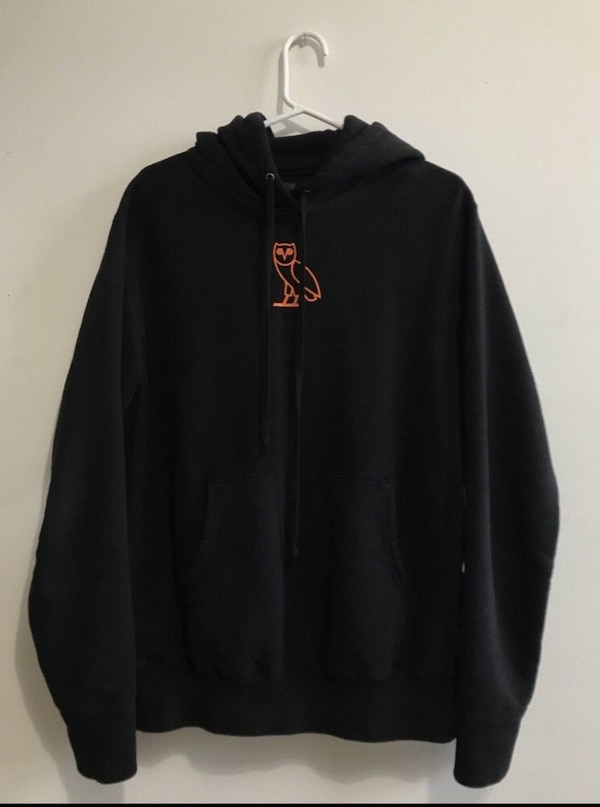Octobers very own black 'free the demons' hoodie