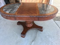 brown wooden oval dinning table Chino Hills, 91709