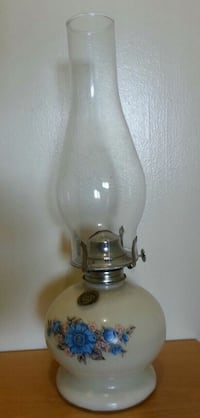 Floral Oil Lamp