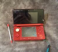 Red Nintendo 3DS includes 3 other items Kingston, K7M 4Y8