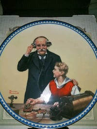 Norman Rockwell Collectors Plate Spring Valley, 91977