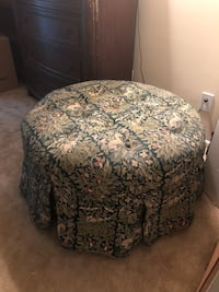 black and white floral ottoman Germantown, 20874