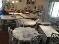 Tables refinished, all shabby chic  Phoenix, 85015