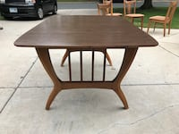 Vintage 60's laminate top dining table & 6 chairs Minneapolis, 55436