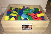 Wooden blocks Clarksburg, 20871