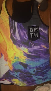 NWOT Bring Me The Horizon tank Greenfield, 45123