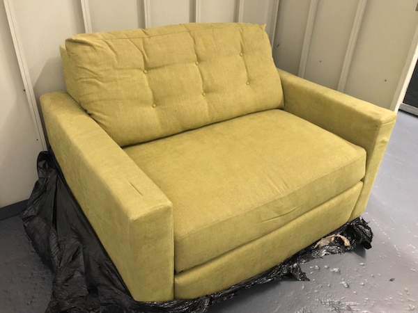 the best attitude 907d2 137e1 Crate & Barrel Karnes Twin Sleeper Sofa