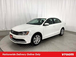 2017 VW Volkswagen Jetta White sedan