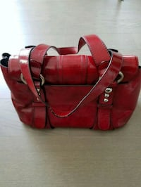 red and black duffel bag New York, 10167