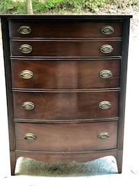 Duncan Phyfe chest of drawers Canton