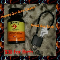 Hoppes Gun Bore Cleaner & Small Gun Lock with 2 keys.   Rock Hill, 29730