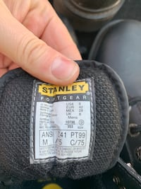 STANLEY STEEL TOES BRAND NEW SIZE 8-9 Toronto, M8Z