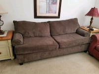 brown fabric 2-seat sofa Kissimmee, 34746