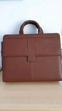 Peugeot  leather  briefcase