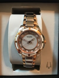 Women's Bulova 12 Diamonds Watch