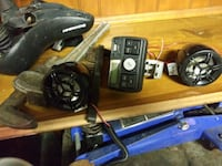 Stereo system for motorcycle.  Akron, 44320