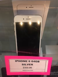iPhone 6 64gb Silver Spring, 20904