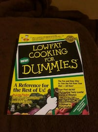 Low fat Cooking For Dummies book Langley, V1M 3K4