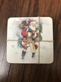 BRAND NEW: Pottery Barn Christmas Coasters Toronto, M3M 1Z4