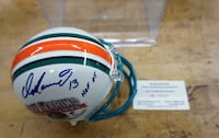 DAN MARINO 13 SIGNED MINI HELMET WITH COA # 015231 MINT COLLECTIBLE. Baltimore, 21205
