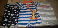 toddler's three assorted onesies Bakersfield, 93313