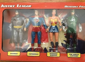 Super hero's unopened